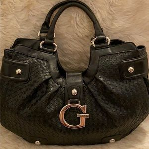 Black Guess Woven Bag🖤✨